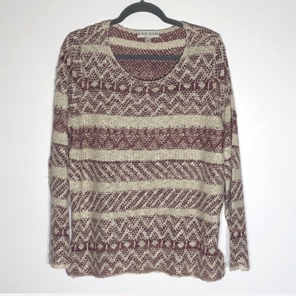Knox Rose Slouchy Sweater